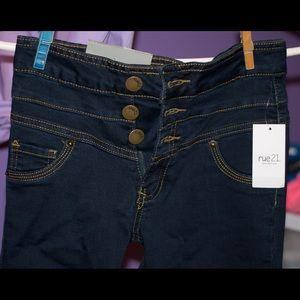 Long Basic Jeans